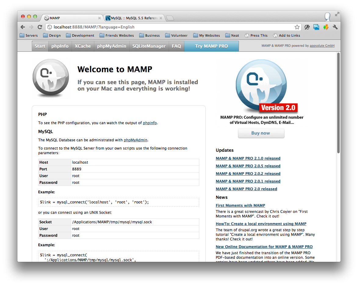 How to use MAMP mysql from the command line · Josh Austin
